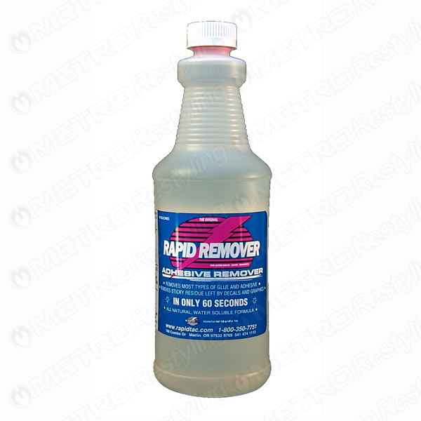 Rapid Remover Vinyl Sticker Decal Adhesive Remover 32oz Ebay