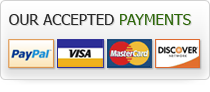 Our accepted payments